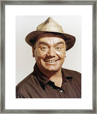 Ernest Borgnine In The Flight Of The Phoenix  Framed Print