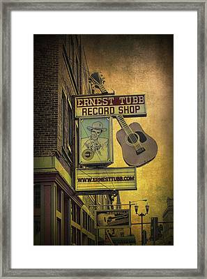 Ernest Tubb's Record Shop Framed Print by Randall Nyhof