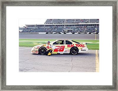 Ernie Irvin Framed Print by Retro Images Archive