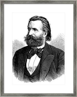 Ernst Von Bergmann Framed Print by Bildagentur-online/tschanz