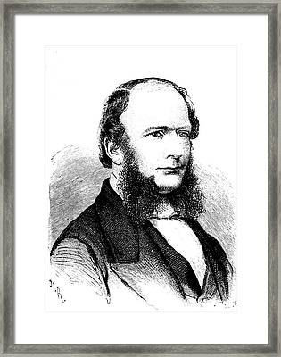 Ernst Von Siemens Framed Print by Collection Abecasis