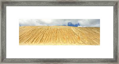 Eroded Copper Tailing, Ruth, White Pine Framed Print by Panoramic Images
