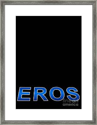 Eros Framed Print by Stelios Kleanthous