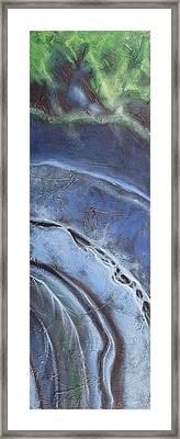 Erosion 2 Framed Print by Carlynne Hershberger