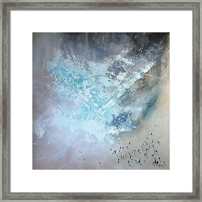 Erosion Framed Print by Neil McBride