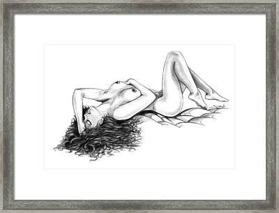 Erotic Dreams By Spano Framed Print by Michael Spano