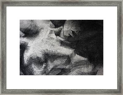 Erotic Sketchbook Page 1 Framed Print by Dimitar Hristov