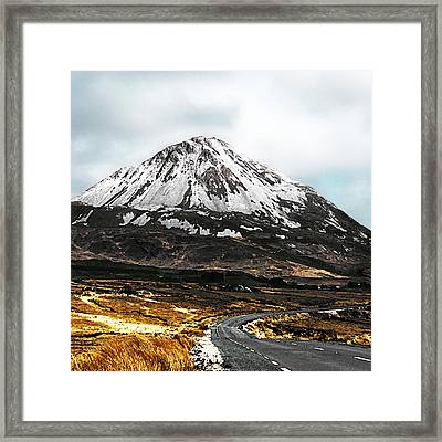Errigal Donegal Ireland Framed Print by Jane McIlroy
