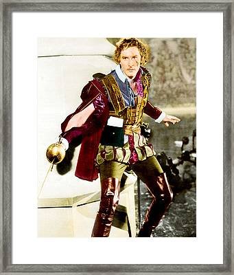 Errol Flynn In Captain Blood  Framed Print