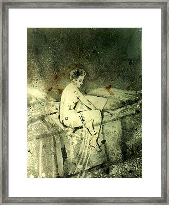 Errotic Mood-2 Framed Print by Anand Swaroop Manchiraju
