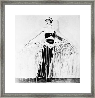 Ert� Costume, 1922 Framed Print by Granger
