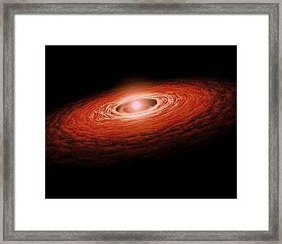 Erupting Star Framed Print by Movie Poster Prints