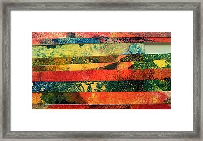 Erupting Volcano Framed Print by Nadia Korths
