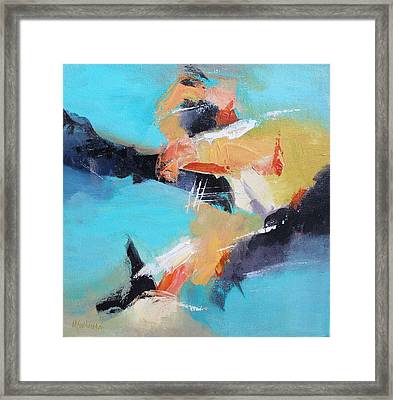Eruption 2 Framed Print by Mary Sullivan