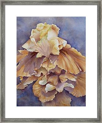 Framed Print featuring the painting Eruption II--flower Of Rebirth by Mary McCullah