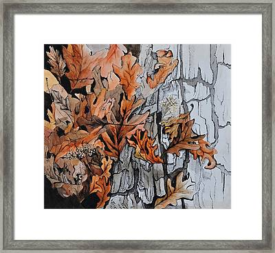 Eruption I Framed Print