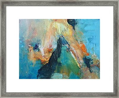 Eruption Framed Print by Mary Sullivan