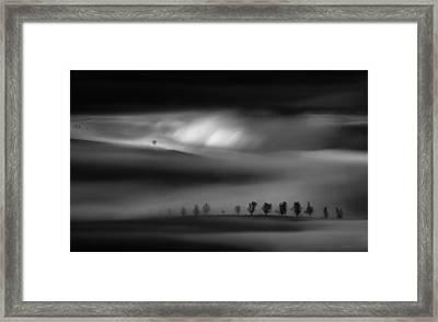 Eruption Of Light Framed Print