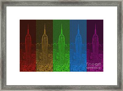 Esb Spectrum Framed Print by Meandering Photography