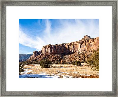 Escalante Canyon Framed Print