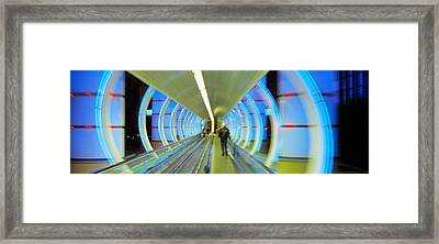 Escalator, Las Vegas Nevada, Usa Framed Print by Panoramic Images