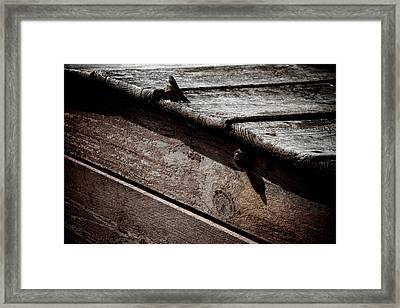 Escalator To Limbo Framed Print by Odd Jeppesen