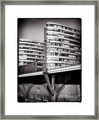 Escape From Berlin Framed Print by John Rizzuto
