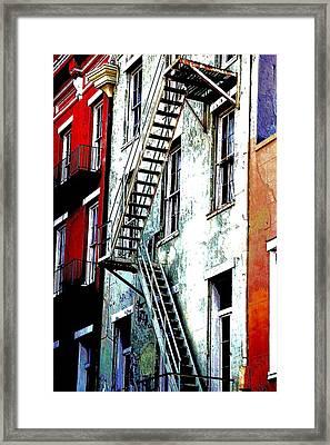 Escape Framed Print by Kathy Bassett