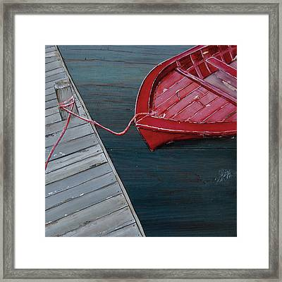 Escape Route Framed Print by Danny Phillips