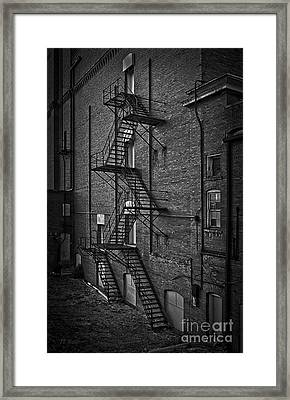 Escape Route Framed Print by Medicine Tree Studios