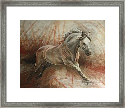 Escape Framed Print by Silvana Gabudean Dobre