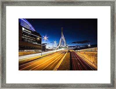 Escape To Boston Framed Print