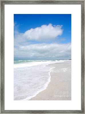 Escape To Paradise Framed Print by Margie Amberge