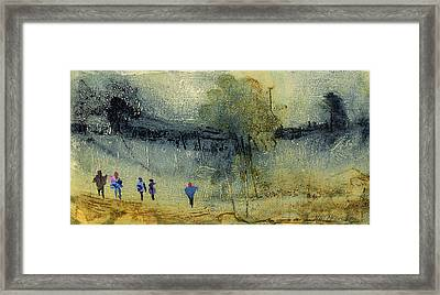 Escape To The Country Framed Print by Neil McBride