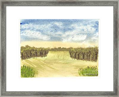 Escape To The Country Framed Print by Tracey Williams