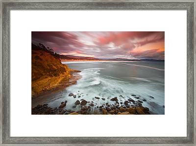 Escaping Reality Framed Print by Darren  White