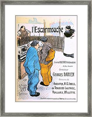 Escaramouche Framed Print by Charlie Ross