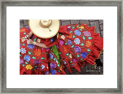 Escaramuza Charra Framed Print