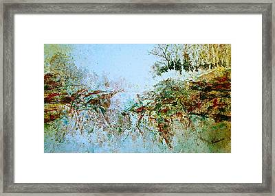 Escarpment Framed Print