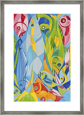 Escher-esque Framed Print by Joseph Edward Allen