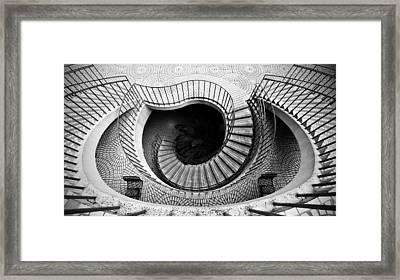 Escheresque Framed Print by Alexis Birkill