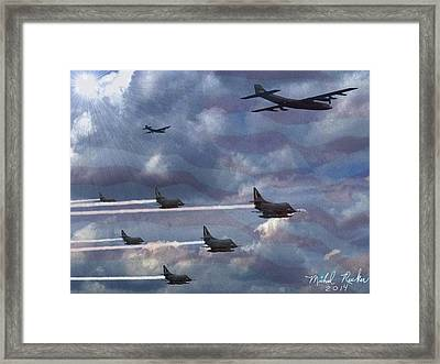 Fighter Jets  Framed Print