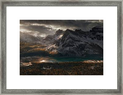 Esgaroth Framed Print