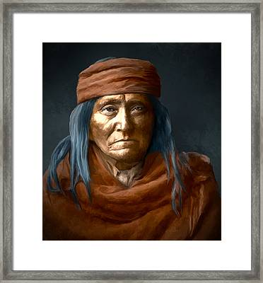 Eskadi - Apache Framed Print