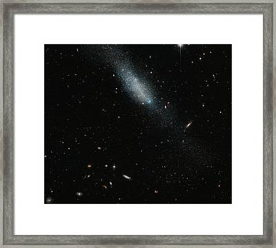 Eso 149-3 Galaxy Framed Print