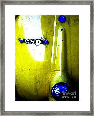 esp Framed Print by Newel Hunter