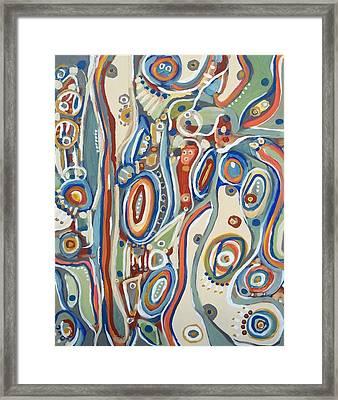 Riveras # 5--sold Framed Print