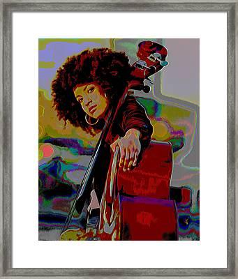 Esperanza Spalding Framed Print by  Fli Art