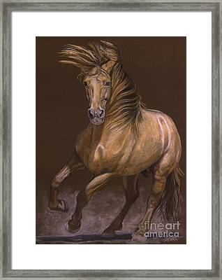 Framed Print featuring the painting Espiritu Espanol by Sheri Gordon