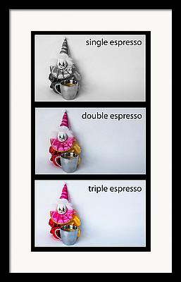 Double Expresso Framed Prints